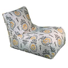 Michelle Lounger - new take on a bean bag chair. but in a lime green for me