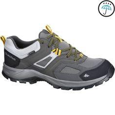 d7329cb79e3 MH100 waterproof Men s Hiking shoes Grey Yellow Mens Waterproof Hiking Boots