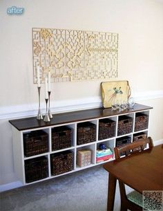 5 Simple and Creative Tricks Can Change Your Life: Rustic Dining Furniture Diy Table painted dining furniture ikea hacks.Dining Furniture Ideas Home Decor. Ikea Furniture, Dining Furniture, Furniture Layout, Furniture Plans, Furniture Cleaning, Furniture Makeover, Furniture Design, Buffet Ikea, Ikea Cubes