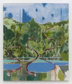 Michael Armitage painting