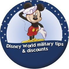 Disney World tips & discounts for military personnel
