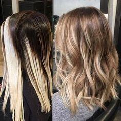 Melty blonde #balayage #balayageartists #balayageombre #hairpainting #handpainted #blondebalayage #hairbykimjette #colormelt