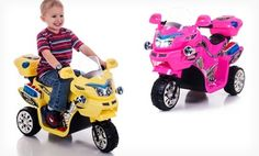 Groupon - Lil' Rider FX Battery-Powered 3-Wheel Bike. Multiple Colors Available. Free Returns. in Online Deal. Groupon deal price: $69.99