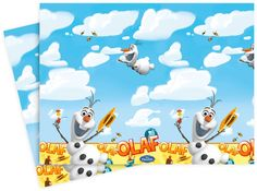 Parti Beta - Frozen Olaf Masa Örtüsü #disney #frozen #olaf #parti #party