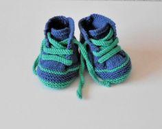 Ravelry: SpookDesigns' Baby Sneakers