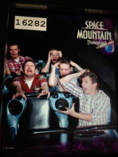 best ride photo ever! you would have to go on that ride so many times to know when the picture is... so dark in there.