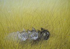 Uit: Kattekwaad, van Piotr en Jozef Wilkon