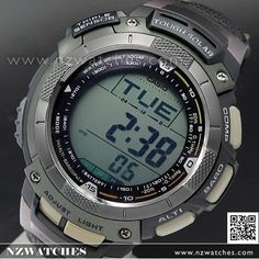 Casio ProTrek Triple Sensor Tough Solar Sport Watch PRG-80L-3VDR, PRG80L