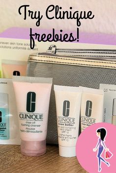 Try Clinique & top brand beauty samples for free at CatchyFreebies.com! Sign up for daily sample offers in your inbox, members only giveaways and more! #clinique