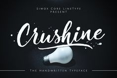 Crushine Wet Brush 35% Off by Siwox Core LineType on @creativemarket