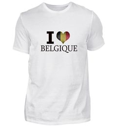 Belgien I love T-Shirt Basic Shirts, Mens Tops, Women, Fashion, Belgium, Moda, Women's, Fashion Styles, Woman