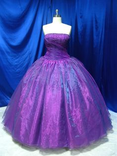 Wedding Dress Fantasy - Purple Wedding Dress - Available in Every Color 4, $709.00 (http://www.weddingdressfantasy.com/purple-wedding-dress-available-in-every-color-4/)