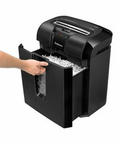 Sponsored: I'd feel safer about identity theft with a paper shredder! @Fellowes, Inc., Inc. #MC