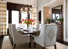 267 best Dining rooms images on Pinterest | Dining room design ...