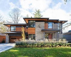 home exterior ideas / home exterior . home exterior makeover . home exterior colors . home exterior ideas . home exterior design . home exterior colors schemes . home exterior makeover before and after . home exterior makeover on a budget Plans Architecture, Modern Architecture House, Architectural Design House Plans, Architecture Design, Modern Farmhouse Exterior, Farmhouse Design, Modern House Plans, Modern House Design, 2 Storey House Design