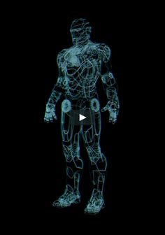 Hologram animation concept test. The Iron Man Suit need to be developed into a realistic hologram for the film for shots that revolved around the discovery of Tony…