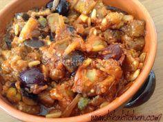 La caponata di melanzane è un tipico piatto della cucina siciliana, questa è la ricetta classica ma ne esistono circa 15 versioni differenti.