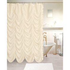 Be who you are and say what you feel, you are on a stage that has no crowd. Act without expectation with Theater Shower Curtain.