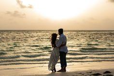 Destination wedding photography.  Sunrise photoshoot.
