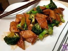 Crock-Pot Chicken & Broccoli 4 boneless, skinless chicken breasts ½ cup low sodium soy sauce ⅓ cup dark brown sugar 1 Tbsp sesame oil 3 garl...
