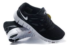 6d9ad7f34f8 Nike Free Run 2 Black Gray Womens For Running Nike Frees Sneakers off