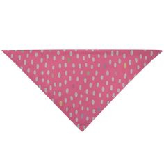 """Give your furry friend a fresh new look with a pet bandana! The triangular construction allows for easy and secure tying for a comfortable fit. Display it on the front, back, or sides of your pet's collar area as a fashion forward look for your miniature companion.• Durable, Woven Cotton/Poly Blend• One Size Fits Most Breeds• Multiple Ways to Tie to Fit Your Pet• Single-Sided Print• Wash Separately in Cold Water - Delicate Cycle• Do Not Bleach. Tumble Dry, Low Heat• 18"""" L x 18"""" W x 25.46"""" H… Woven Cotton, Triangle Shape, Bandana, Bleach, Your Pet, Fashion Forward, Delicate, Miniatures, Construction"""