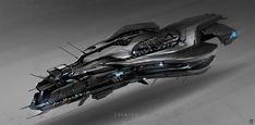 New ships by our friend Jon McCoy. Keywords: digital concept spaceship illustrations art design by jon mccoy professional concept. Space Ship Concept Art, Concept Ships, Spaceship Art, Spaceship Design, Starship Concept, Sci Fi Spaceships, Research Images, Sci Fi Ships, Star Wars