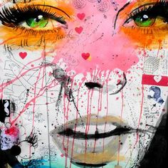 "TAF DECOR Quite Frankly by Loui Jover Graphic Art Size: 28"" H x 28"" W"