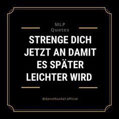 Wer es sich jetzt leicht macht, hat es langfristig schwerer ⚠️ . Wer sich dagegen jetzt anstrengt und bereit ist  eine längere Zeit durchzuhalten, der lebt später in Leichtigkeit, wie es die meisten nur träumen. . Siehst du das auch so? Dann gib mir ein YES in den Kommentaren ✌🏻🚀 . ➖➖➖➖➖➖➖➖➖➖ Mehr zum Thema Selbstständigkeit & Mindset: . 👉 @danielkunkel.official 👉 @danielkunkel.official 👉 @danielkunkel.official . ➖➖➖➖➖➖➖➖➖➖ . 🎟 Hashtags .  #motivation #erfolgreich #success #unternehmer… Letter Board, Success, Lettering, Motivation, Signs, Entrepreneur, Keep Up, Things To Do, Life