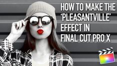 In this tutorial we will show you how to make the 'Pleasantville' or 'Sin City' look with Final Cut Pro X's new colour toolsThe films Pleasantville, Sin City and many music videos have all used the same technique. The isolation of a spe...