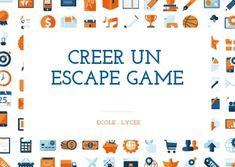 Creer un Escape Game dans votre salon ou dans une école. Collège, lycée, ecole de commerce. Escape Game DIY.