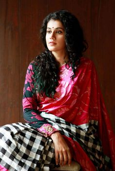 Taapsee Pannu #Bollywood #Fashion #Style #Beauty