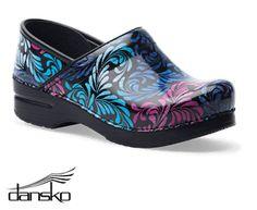 Dansko Professional Filigree Patent Leather Clog Style # DANSKFIP  #uniformadvantage #uascrubs #shoes #nursingshoes