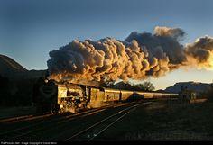 Class 25NC No 3472 South African Railways, en Slabberts, South Africa Fotógrafo, David Benn