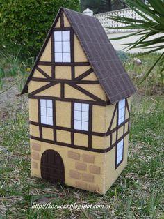 German felt house by Kosucas