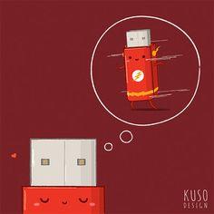 Flash Drive by kusodesign.deviantart.com on @DeviantArt