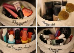 Small baskets like this can be very useful.  beautylovin.com
