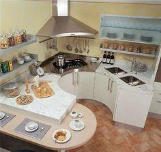 Arredare casa con pavimento in cotto cucina moderna e for Piani casa hacienda