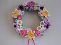 Springtime wreath