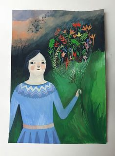 Image of Starling walk -.Original painting