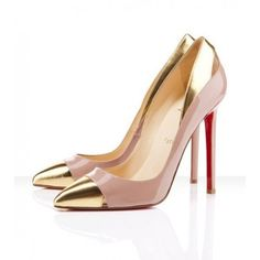 Louboutin pointed toe heel
