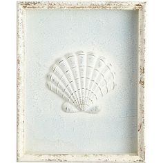 Pier 1 Imports Blue Seashell Framed Wall Decor ($50) ❤ liked on Polyvore featuring home, home decor, wall art, sun wall art, pier 1 imports, motivational wall art, inspirational wall art and blue home decor