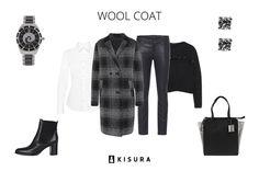 Trendstyle: Die perfekte Winterjacke // Kisura GmbH   #new #look #perfect #winter #jacet #wool #coat #black #white #kisura #kisurastyling #fashion #fashionlovers #happy
