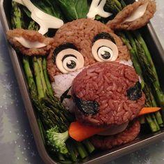 Disney Food Art ~ Sven