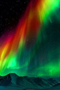 Aurora borealis - via Ramazan Şenel's photo on Google+