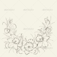 Narcissus Flowers - Flowers & Plants Nature                                                                                                                                                      Plus