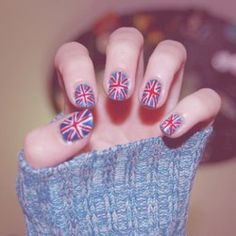 uñas Inglaterra