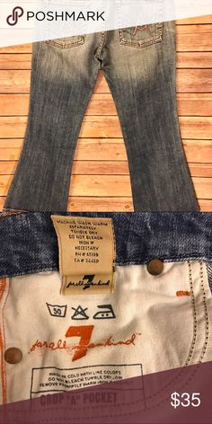 "7 for all mankind cropped ""A""  jeans 7 for all mankind cropped jeans size: 27 7 For All Mankind Jeans Ankle & Cropped"