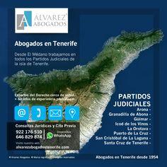 Abogados en Tenerife. Desde El Médano (Granadilla de Abona – Tenerife Sur) trabajamos en todos los Partidos Judiciales de Tenerife. Contacte con nuestros Abogados para poder darle solución a sus problemas legales. https://alvarezabogadostenerife.com/contacto/  #Derecho #Abogados #AlvarezAbogados #Tenerife #SomosAbogados #Justicia #TenerifeSur #granadilladeabona #elmédano