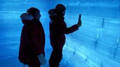 """""""The Antarctic core provides a comparison with records from Greenland"""" (BBC News)"""